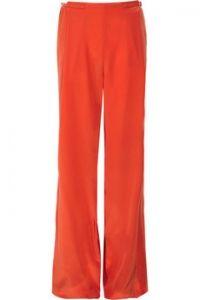 Roberto Cavalli Silk crepe de chine wide-leg pants