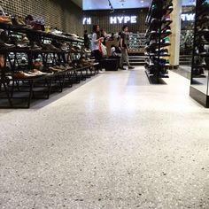 10mm #polishedconcrete #overlay #concretefloor #floor