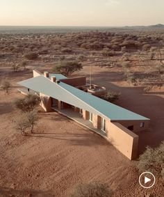 slee & co. architects red earth game lodge emerges from the namibian landscape