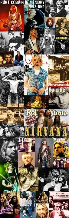 KURT COBAIN | 1967-1994 | NIRVANA | Happy birthday Kurt Cobain!!!