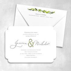 And Love Wedding Invitations