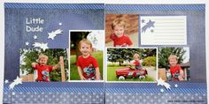 At my September Crop Club, we made three double-page layouts using the same page sketch, one pack of Denim Blues Paper, one pack of Denim Blues Embellishments and one sheet of white cardstock. We …