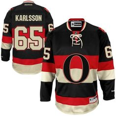 Reebok Erik Karlsson Ottawa Senators Premier Player Jersey - Black