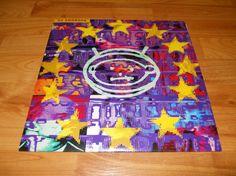 RARE 1993 U2 Zooropa Vinyl Record LP Black by VinylRecordBarn