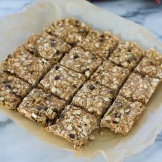 These are oatmeal breakfast bars are a terrific on-the-go healthy breakfast, and a perfect snack for any time of the day.