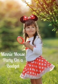 Minnie Mouse Party Ideas On A Budget -Dont break your budget having a birthday party, check out these great tips!