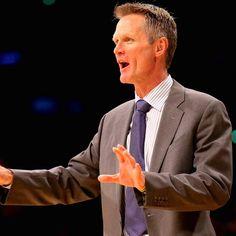 Steve Kerr-Golden State Warriors Basketball Coach