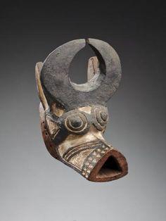 Burkina Faso Culture Bwa, mask ring, bwa falo, buffalo