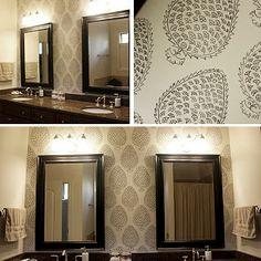 DIY Sharpie wall art inspired by Katie Ridder wallpaper Sharpie Wall, Sharpie Pens, Exterior Design, Interior And Exterior, Student Apartment, Wallpaper Stencil, Wall Candy, Inspirational Wall Art, Diy Painting