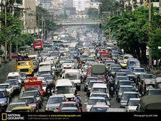 Bangkok Traffic Jam - Bing images
