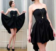 Asos Black Dress, Asos Gold Necklace, Embis Black Heels