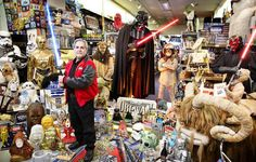The Force is with Steve Sansweet in abundance. A former Wall Street Journal bureau chief who went to... - Courtesy of Guinness World Records