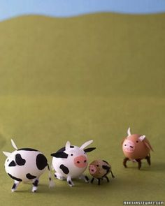 Country Cow Egg Creatures