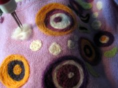 Cassie Stephens: DIY: Felting a Holey Mess, Anthro-Style