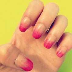 How to Have Gradient Nails