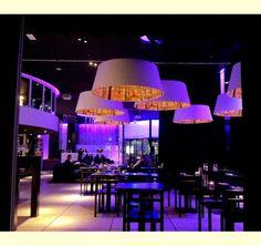 Shady Tree lamp by Brunklaus Amsterdam at Nprdic Light Hotel, Stockholm Restaurant Lighting, Bar Lighting, Hotel Stockholm, Stockholm Sweden, Shady Tree, Nordic Lights, Tree Lamp, Bar Lounge, Lampshades