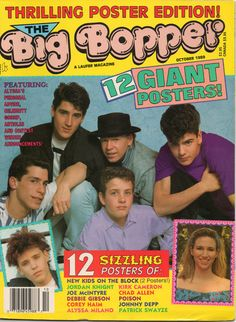 """Couldn't read """"Bop"""" magazine without reading """"Big Bopper""""! Just looking at this has me singing New Kids' """"The Right Stuff"""" in my head."""