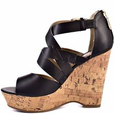 G by Guess Fashion Women's shoes black size 9.5 #GBYguess $45.00  #PlatformsWedges #Casual