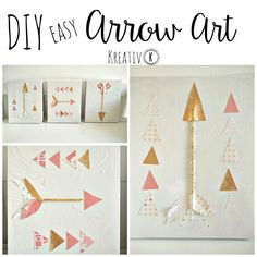 This DIY easy arrow