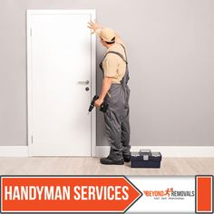 At Beyond Removals we provide high quality and reliable 24-7 handyman services in London. We can work with any project or idea that you may have. Our crew of handymen are professionals helping with all of your general home repairs and home improvement projects. Visit us at: http://www.beyondremovals.co.uk/handyman-services/ #handymanservices #beyondremovals #removalservices