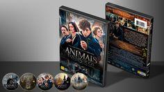 Animais Fantásticos E Onde Habitam - Capa | VITRINE - Galeria De Capas - Designer Covers Custom | Capas & Labels Customizados