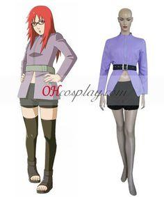Naruto Shippuuden Karin Cosplay Costume Set