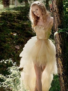 A fairy in the enchanted forest