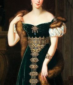Image result for portrait of Duchess of Berry by Alexandre-Jean Dubois-Drahonet