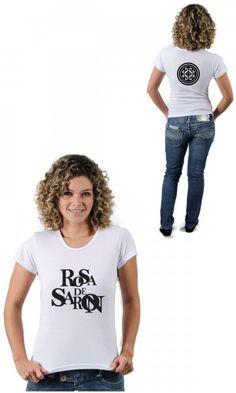 Camiseta Rosa de Saron Mandala por apenas R$45.90