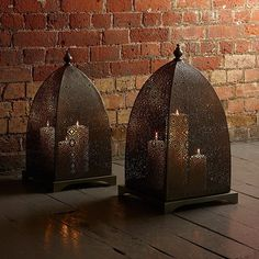 Moorish Iron Windlight
