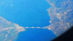 Brige Rio- Antirio from sky