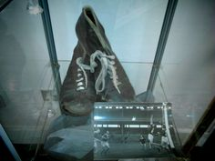 Gaelic Football boots, Arnotts Museum, Henry Street, Dublin. Football Boots, Dublin, Combat Boots, Museum, Street, Shoes, Soccer Shoes, Zapatos, Shoes Outlet