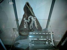 Gaelic Football boots, Arnotts Museum, Henry Street, Dublin. Football Boots, Dublin, Combat Boots, Museum, Street, Shoes, Zapatos, Shoes Outlet, Combat Boot