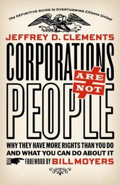 Examines the groundbreaking Citizens United Supreme Court ruling granting certain personhood rights to corporations, and explores the history of efforts by corporate powers to influence and control the mechanisms of government, much to the detriment of representative democracy and America's founding principles.