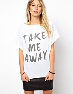 Take me away tee
