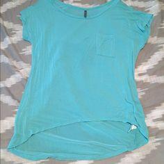 Blue pocket Tshirt Cute blue shirt. Worn a couple times. Tops Tees - Short Sleeve
