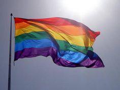 Rainbow Flag equals gay Pride!