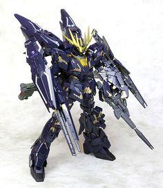 GUNDAM GUY: HGUC 1/144 Unicorn Gundam 02 Banshee [Flexible Thruster Equipment] - Custom Build