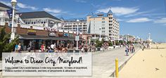 Ocean City Maryland Boardwalk| ... city oceanfront motel is steps from the ocean city beach and boardwalk