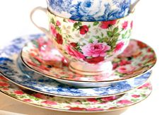 Love! Vintage Dishes, Vintage China, Vintage Teacups, Vintage Floral, Shabby, Teapots And Cups, China Tea Cups, My Cup Of Tea, Tea Cup Saucer