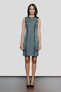 Of Mercer Bowery Dress in Charcoal