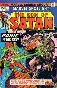 Marvel Spotlight #21 [The Son of Satan] April 1975