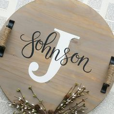 Check out this item in my Etsy shop https://www.etsy.com/listing/465403490/custom-18-round-wooden-tray-customize