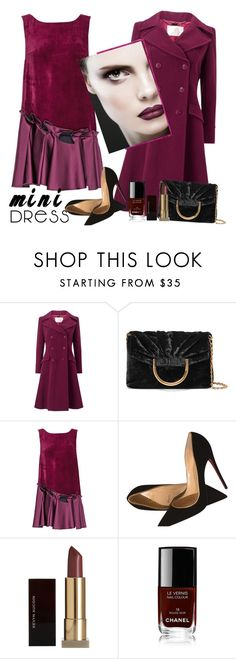 """Untitled #560"" by m-jelic ❤ liked on Polyvore featuring Jacques Vert, STELLA McCARTNEY, Lattori, Christian Louboutin, Kevyn Aucoin and Chanel"