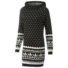 image: adidas Patterned Hoodie Dress G76217