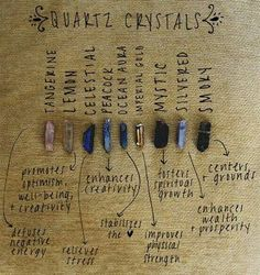 A beautifully captured visual that may help one understand how the various souls of the pictured quartz crystals can assist in guiding seekers to discover their true zen spirit...