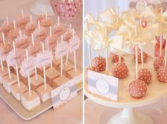 {MY LITTLE JEDI} cake pops & cheese cake bites