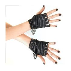 gothic-gloves.jpg (600×600) ❤ liked on Polyvore featuring gloves