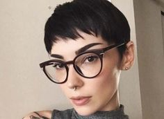 Share Tweet Pin Mail This ash blonde pixie. credit This messy pixie. credit This short pixie cut with shaved sides. credit This highlighted pixie. ...