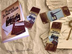 Duska's Decoupage Saga Vintage Bookmarkers